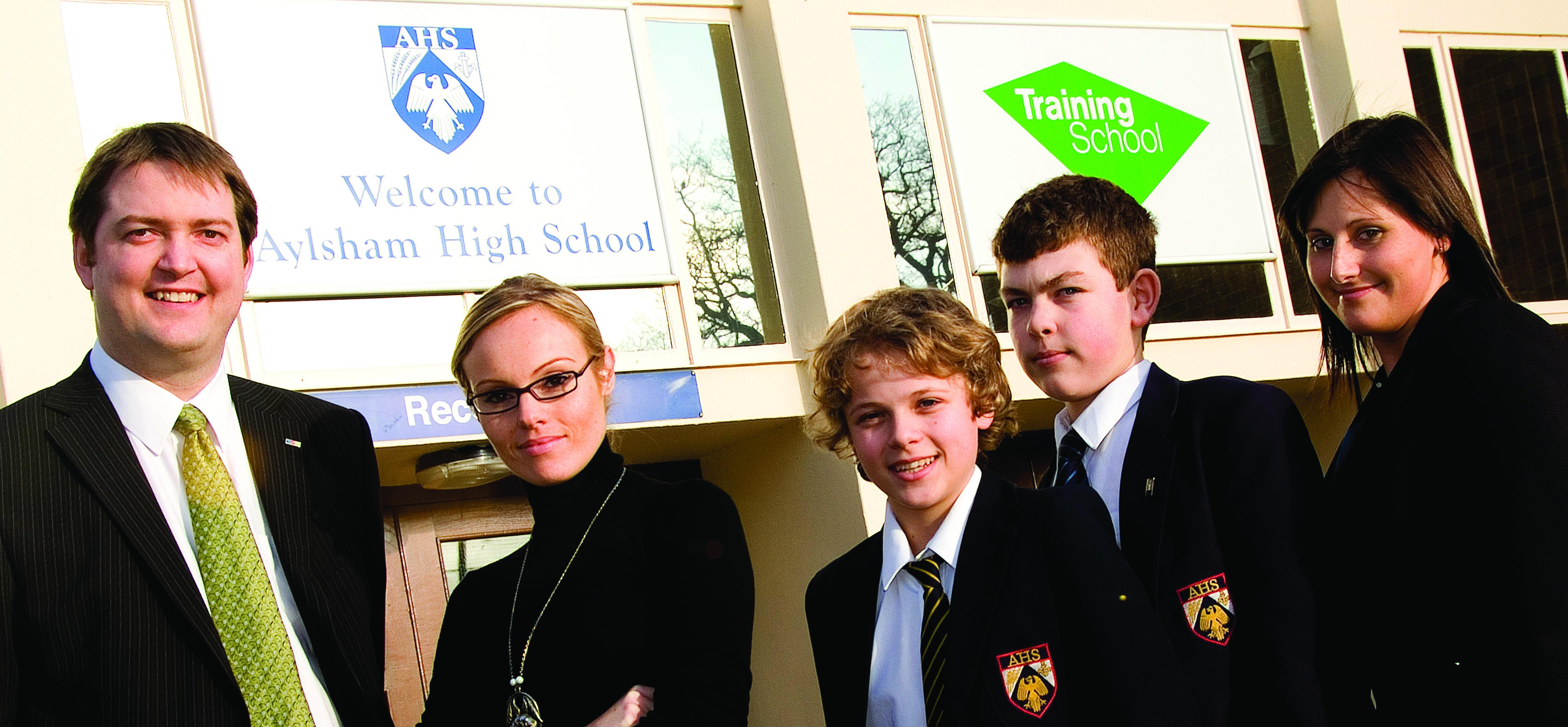 Apprentice Winner Visits Aylsham High