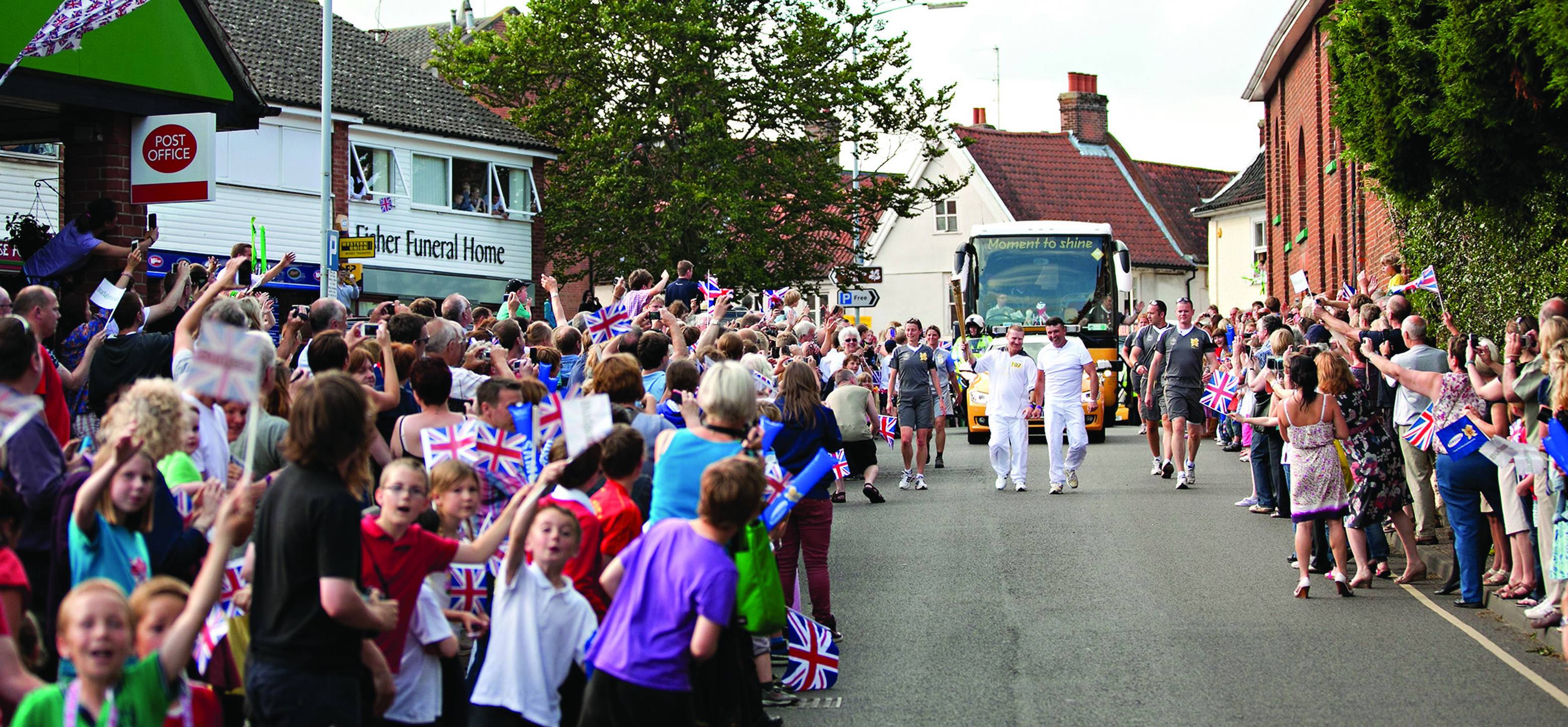 Olympic Torch comes to Aylsham