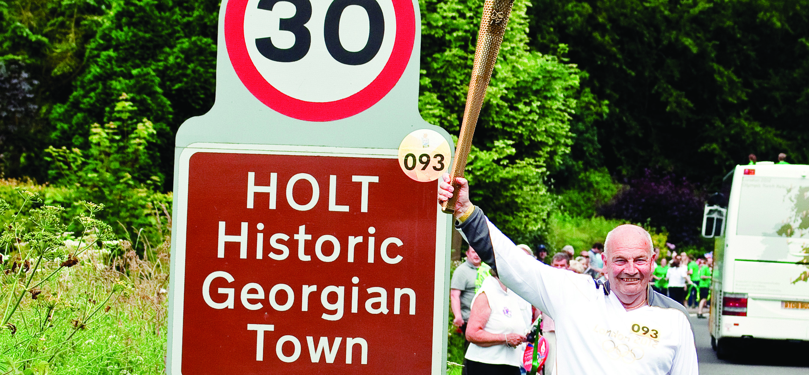 Olympic Torch comes to Holt