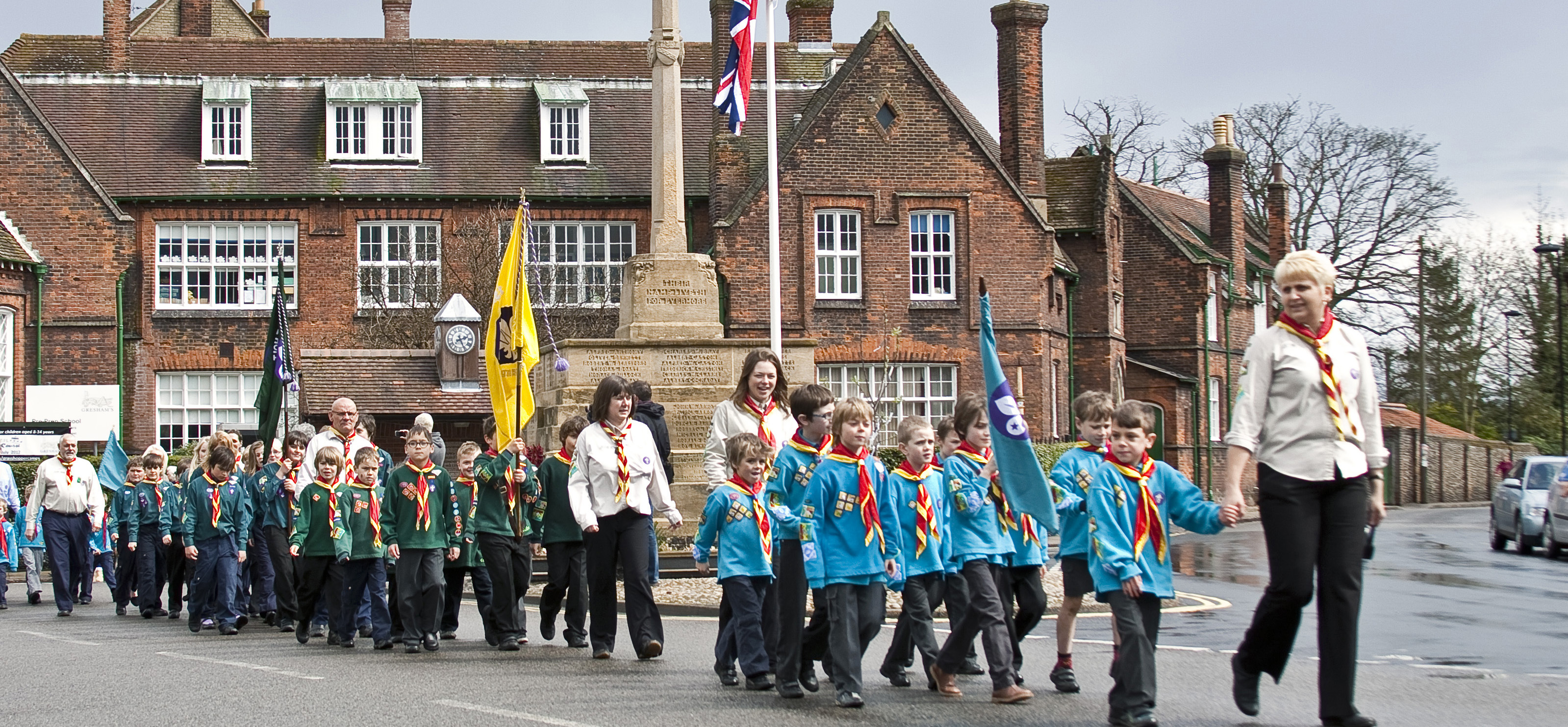 Remembrance Day Parade in Holt