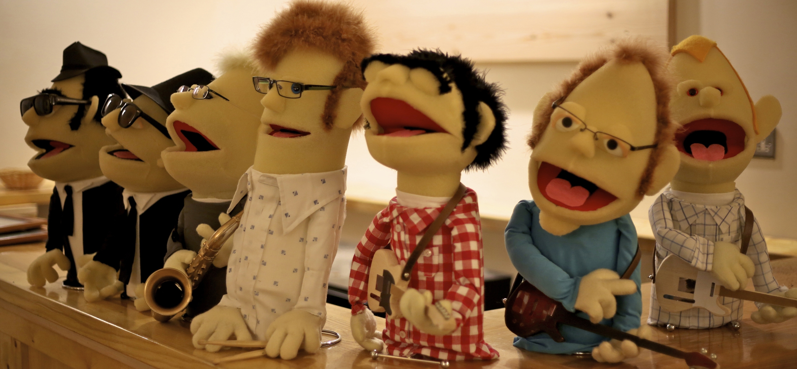 North Walsham Booze Brothers Puppets
