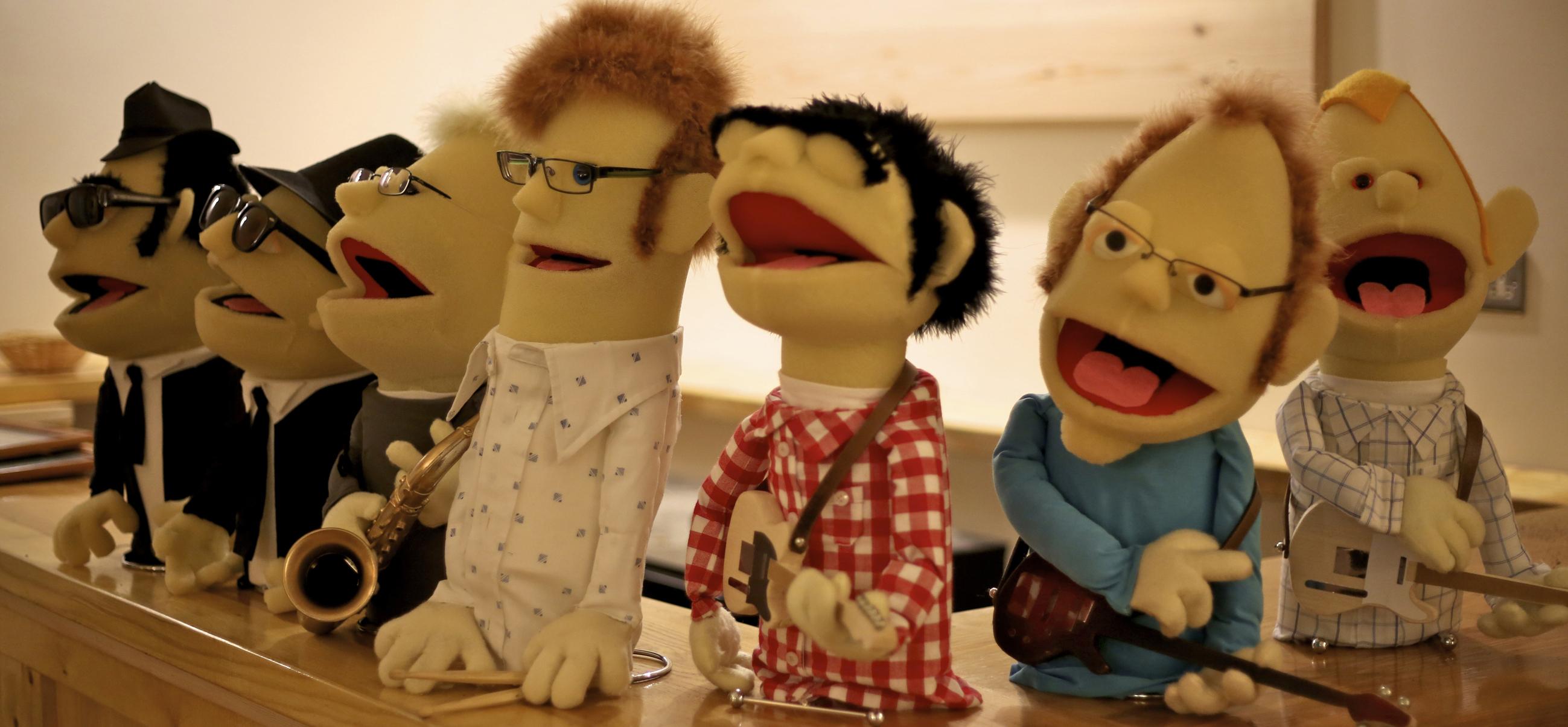 North Walsham Booze Brothers Puppets