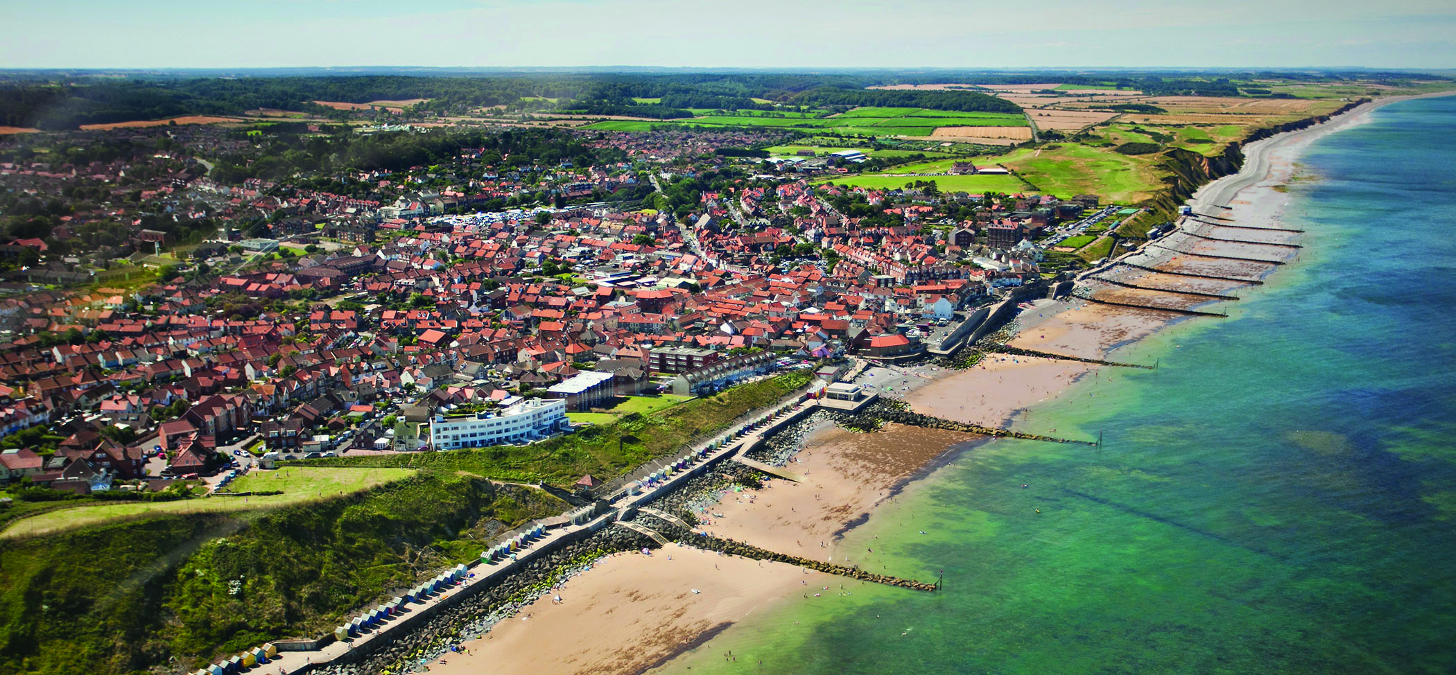 Sheringham from the air