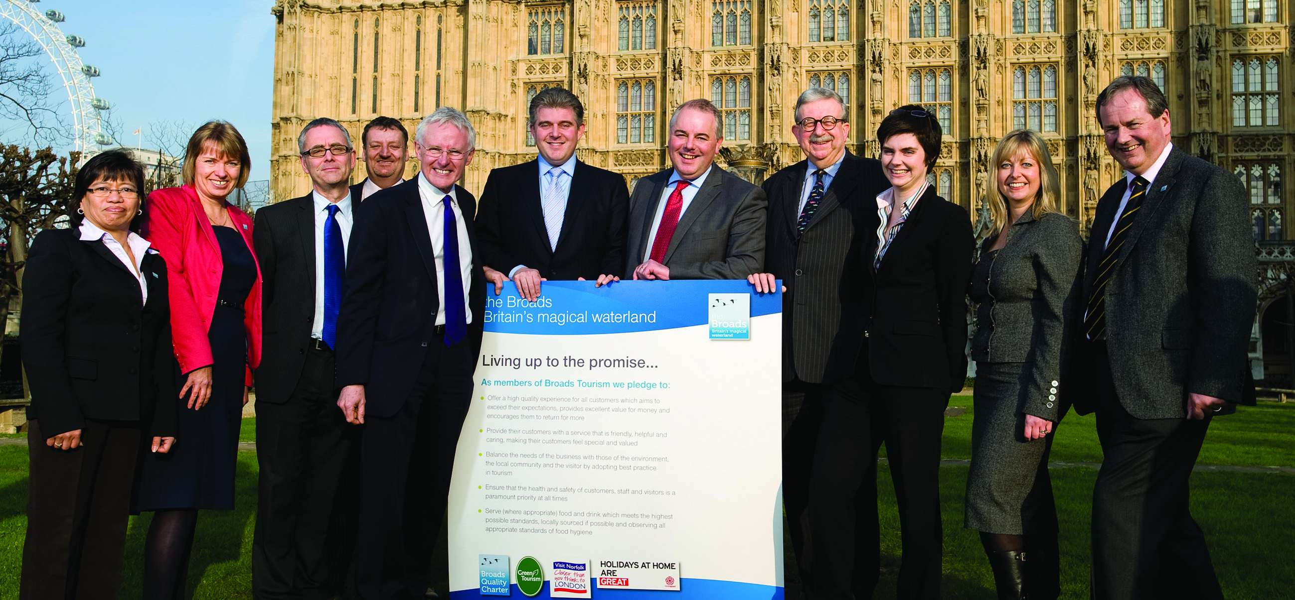Broads Tourism Quality Pledge Signing
