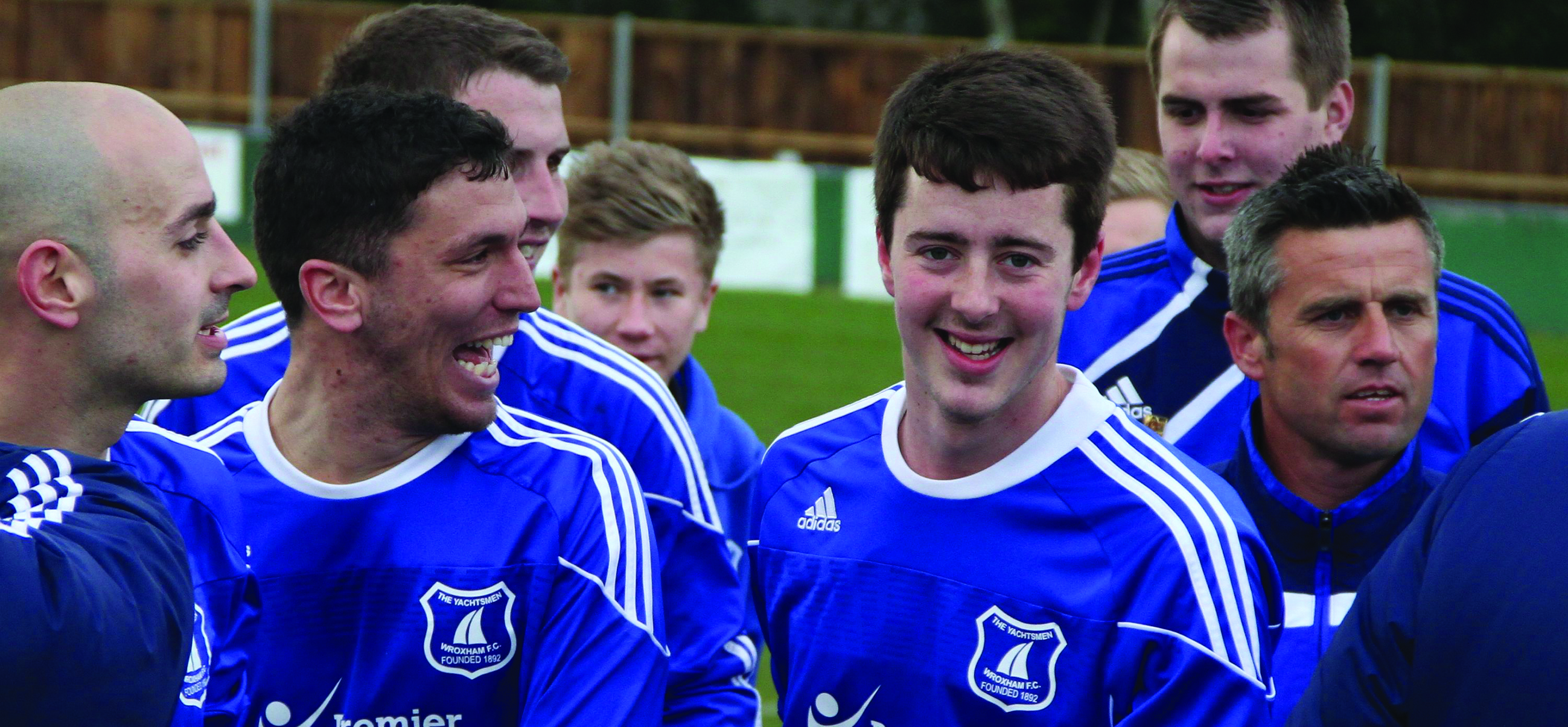 Wroxham FC Celebrate