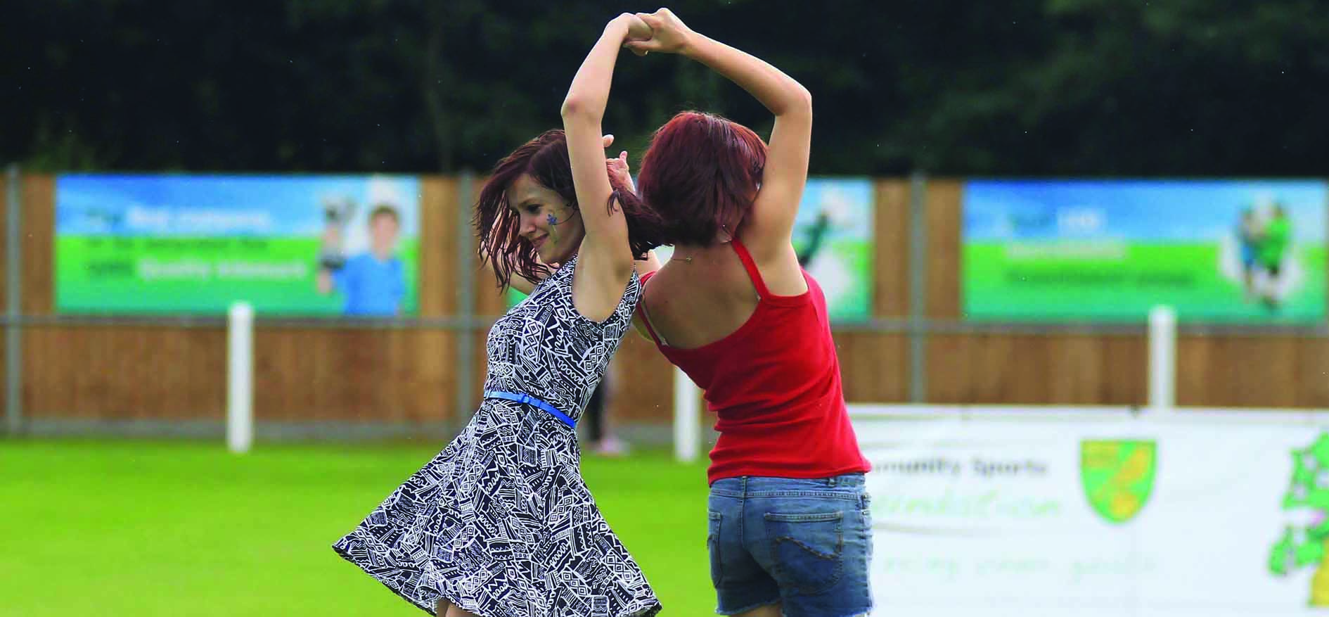 Dancing at Wroxfest