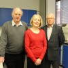 Ian Gibson, Daphne Sutton, Roger Green, 3 of the trustees of PDT Norfolk