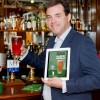 Rupert Farquharson, managing director at Woodforde's with the new Ale Trail app.