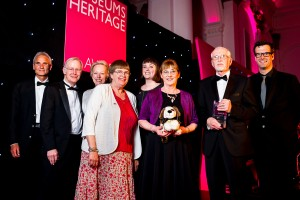 Henry Blogg volunteers accepting their award