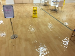 Willow Centre flooding 2