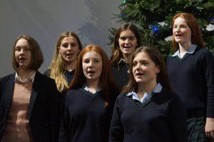 L-R: Rhianna Campbell-Cann, Alice Dale, Clementine Chapple, Henrietta Hoveden, Amelia Fox and Molly Sankey.
